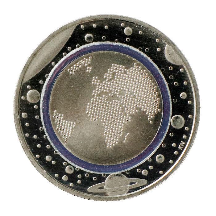 5 Euro Münze Deutschland 2016 Planet Erde Mit Polymerring