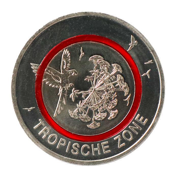 5 Euro Münze Deutschland 2017 Tropische Zone Mit Polymerring