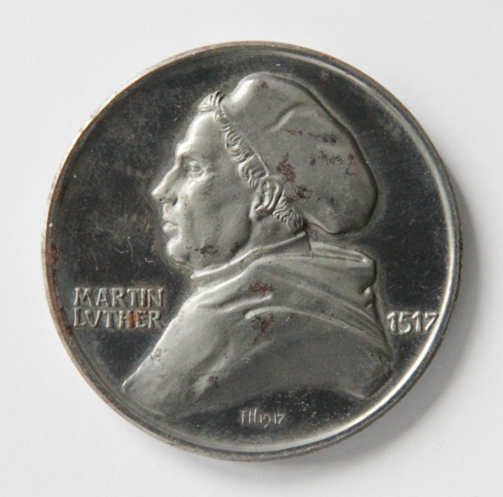 Medaille Zur 400 Wiederkehr Des Reformationstages Martin Luther 1917