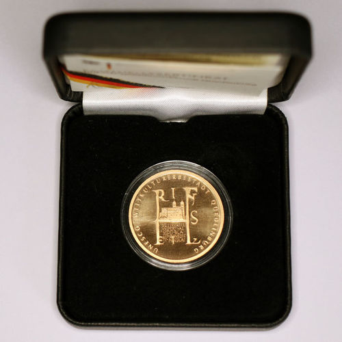 100 Euro Goldmünze 2003 UNESCO Quedlinburg ST