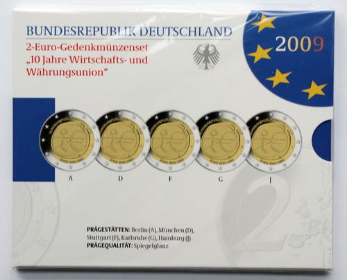 Brd 2 Euro Münzen Ralf N Kurzbach Münzhandel Shop