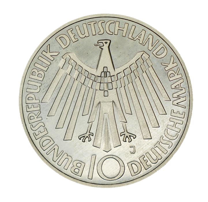 Jaeger 401bf 10 Dm Olympiade München 1972 J Pp Mit Arabesken