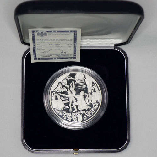 Russland 25 Rubel Ballett Raimonda 1999 PP proof