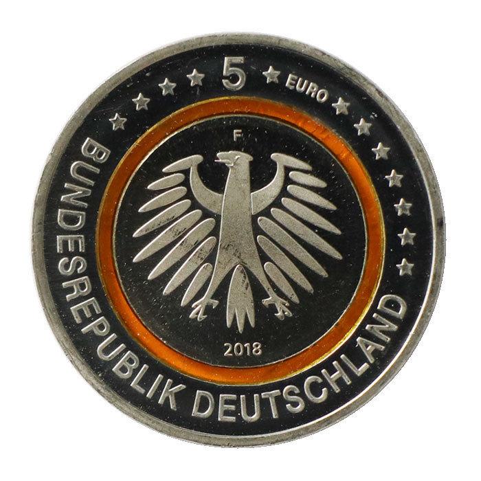 5 Euro Münze Deutschland 2018 Subtropische Zone Mit Polymerring