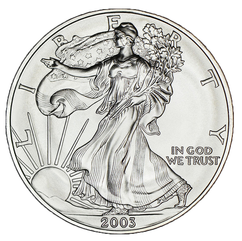 USA-oz-1-Dollar-Silver-Eagle-Liberty-2003